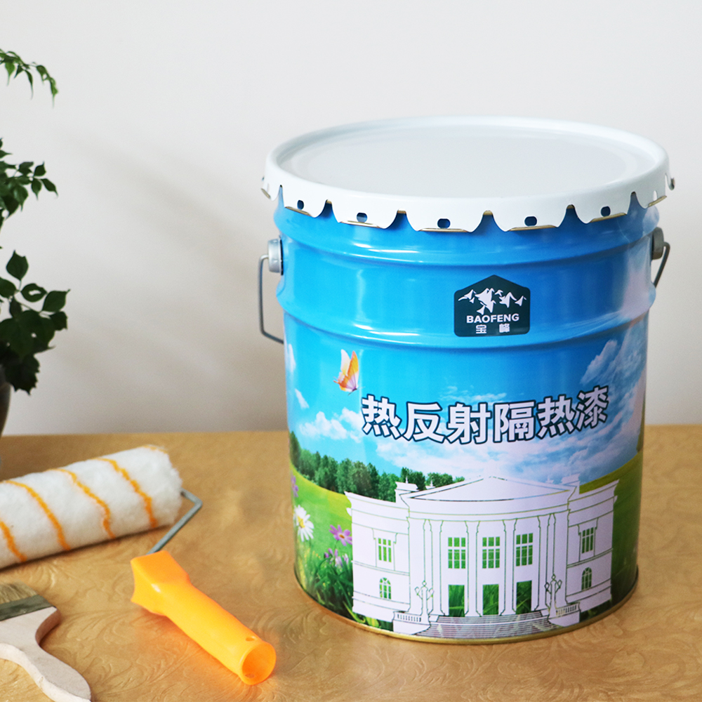 Green and environmental friendly waterproof heat resistance roof tile paint