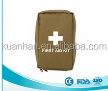 Sturdy Military First Aid Kit Better Medical Contents Wound Care