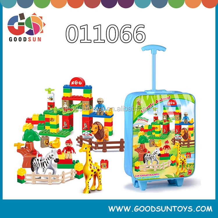 plastic building blocks for kids, toy brick,educational toy set