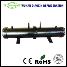 Tube and shell heat exchanger water-cooled condenser for chiller
