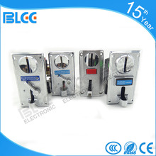 best selling coin selector for washing machines amusement coin selector used in charging basketball game