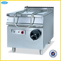 Hotel supplier large capacity electric tilting pan with tilting pot