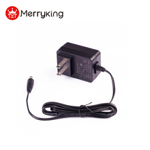 Merryking ac dc power adapter 12v1000mA USAplug UL FCC CE GS certified NEW