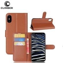 Flip Coque Leather Fur Wallet Credit Card Holder Casing Cover Case For iPhone X 8 5G 5S 5C 5SE 6 6S 7 Plus