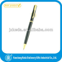 2014 ball pen retractable with parker pen clip new item in market