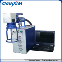 mini metal laser marking machine / desktop fiber laser marking machine Skype:szchanxan