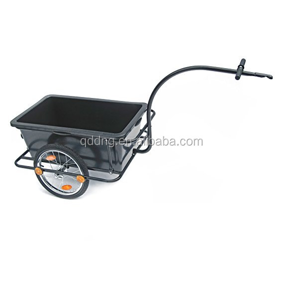 Bicycle Trailer with 90L Plastic Tub with Clutch - Last Trailer Trailer Hand Cart