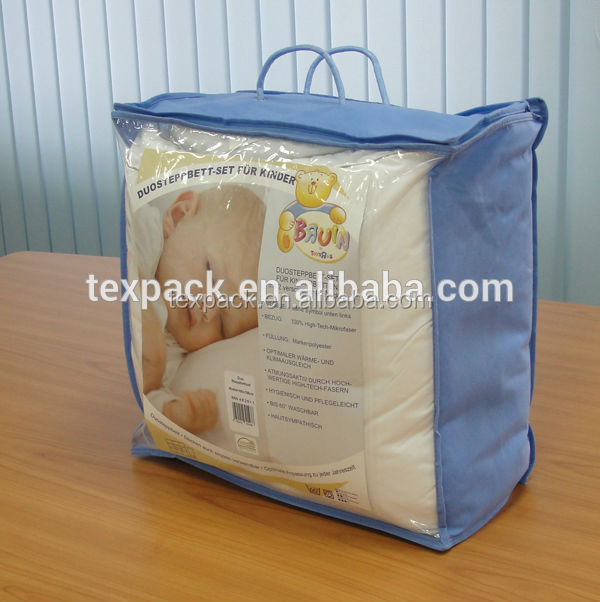 china manufacturer plastic nonwoven zipper quilt carrier bag