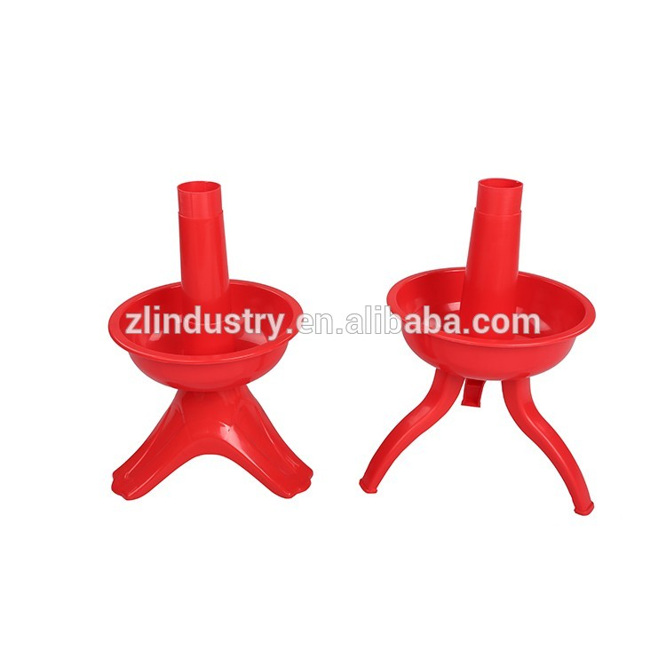 High quality colorful plastic easy assembly child care furniture school
