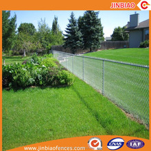 galvanized chain mesh fabric 50x50mm chain link fence for sale