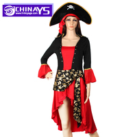 Halloween Party COSPLY Fancy Dress Women Pirate Costume