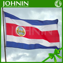 12 Years golden Flag maker supply 7 days Custom sublimation printing flags of costa rica