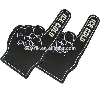 Black Color EVA Foam Hand and Fingers