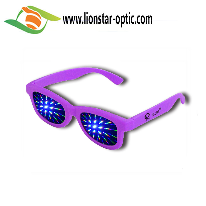 Paper diffraction glasses 3d fireworks glasses christmas party glasses for fun