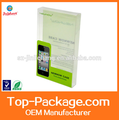 Wholesale Blister Packaging Rectangular Clear Plastic Box For Phone Case
