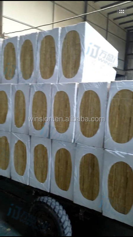 Industrial fireproof board rock wool insulation material waterproof board