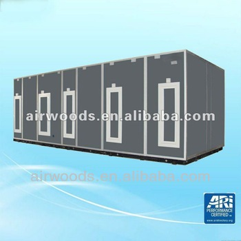 super high air cleanness cooling and heating air handling unit with ARI approved cooling and heating coils