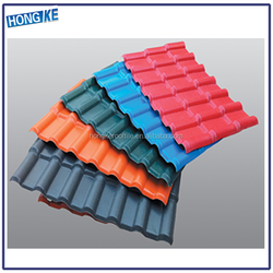 cheap plastic pvc roofing materials/fire proof insulation roof sheet/spanish roof tile