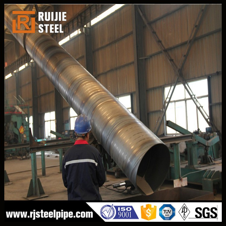 SSAW large diameter galvanized spiral welded steel pipe
