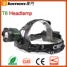 10W T6 High Power Zoom Headlamp,Miner Headlamp,Led Rechargeable Headlamp For Hunting