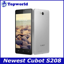 World Cheapest Mobiles 5.0inch Cubot S208 Android 4.2.2 MTK6582Quad Core 1GB RAM 16GB ROM Phone