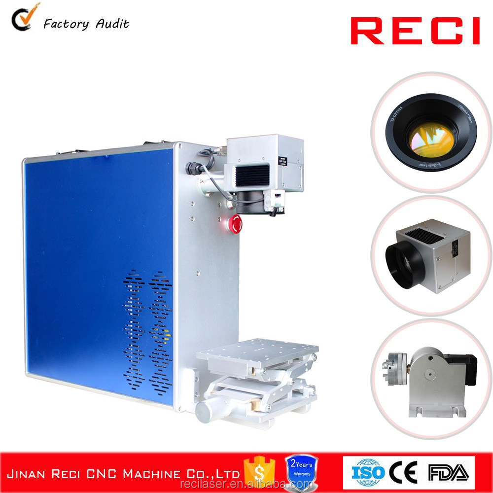 Discount Price optical cnc fiber 20w laser machines rings marking