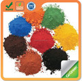 Iron oxide pigment Red/Yellow/Green/Blue/Orange/Brown for road color paving