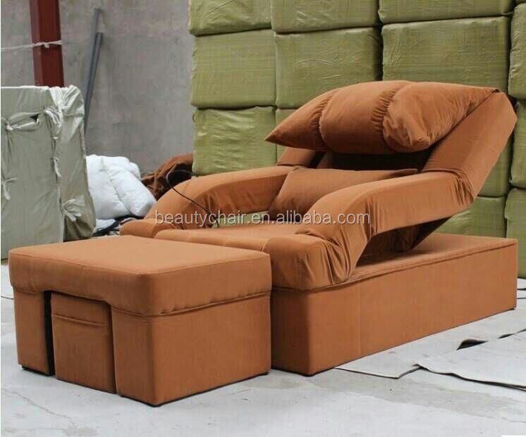 Adjustable back with electric foot recliner massage sofa