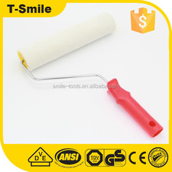 wall wheel cover high performance hollow plastic radiator cleaning roller brush