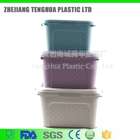 hot selling products Houseware Plastic 5L Storage Box With Lid and Handle
