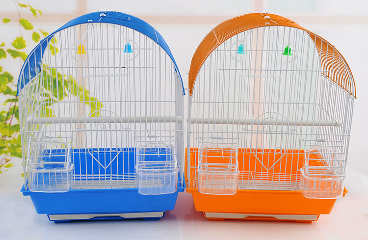 Top selling decorative flat pack wire mesh large bird cages metal