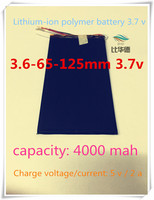 L284] 3.7V,4000mAH,[3665125] ;polymer lithium ion / Li-ion battery for tablet pc,Digital photo frame,power bank