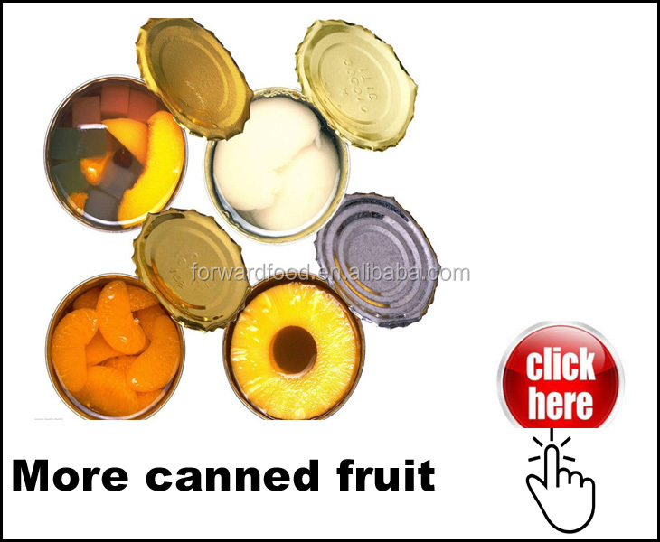 2017 kosher halal canned mixed fruit ingredients in canned fruit cocktail cup