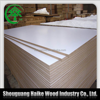 18mm wholesale price white melamine mdf board
