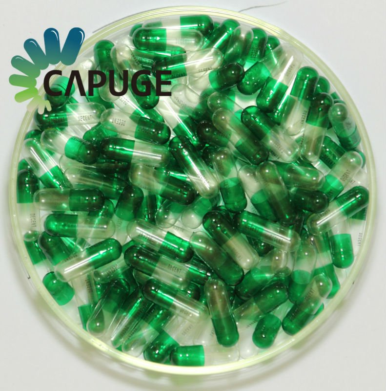 Health products empty color capsules from china supplier
