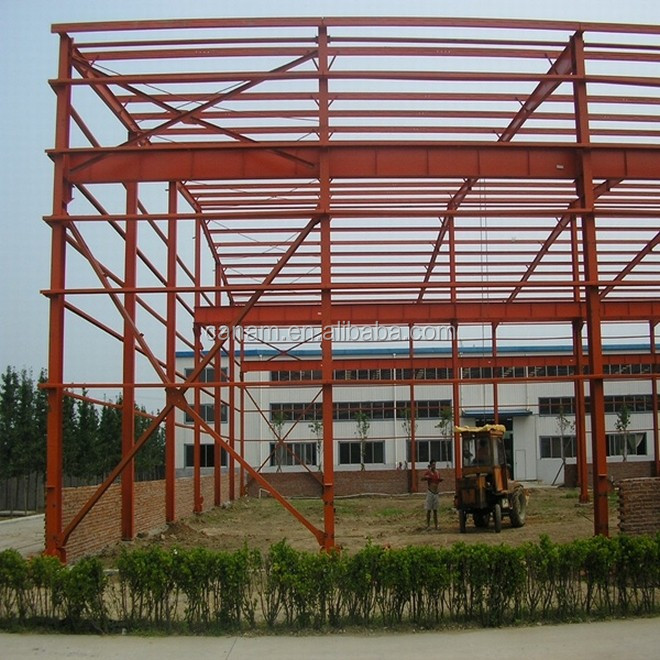 Low cost high quality light steel structure industrial plant