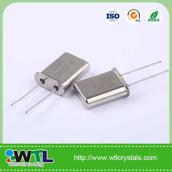 11.0592MHz 20pF 30ppm Fe-cover HC-49/<strong>U</strong> passive component crystal oscillator