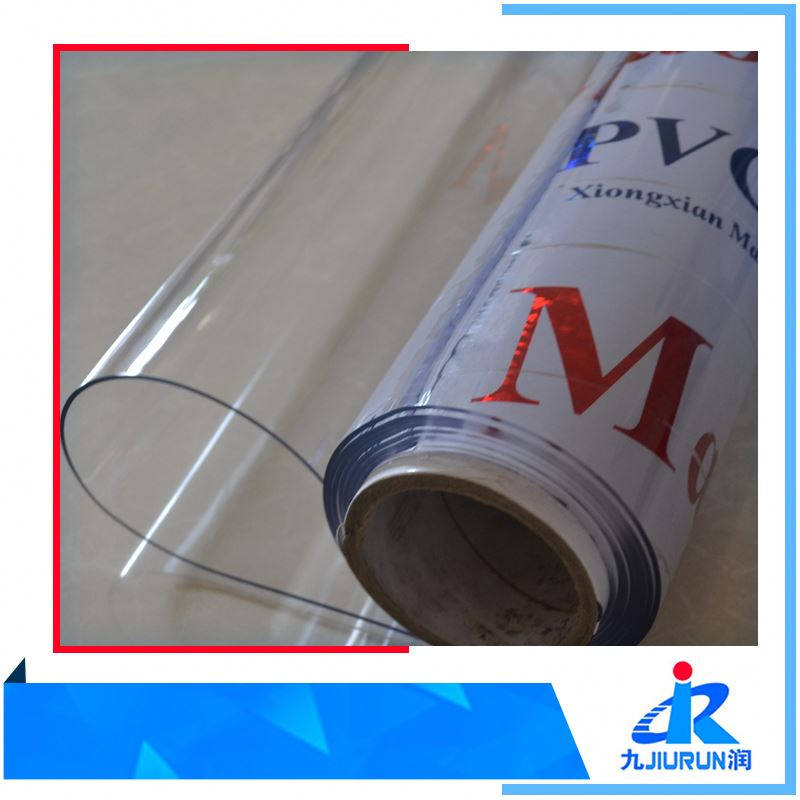 Soft Pvc flexible transparent sheet /thin clear plastic sheet