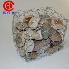 River bank protection gabion mattress /gabion box stone cage for retaining wall