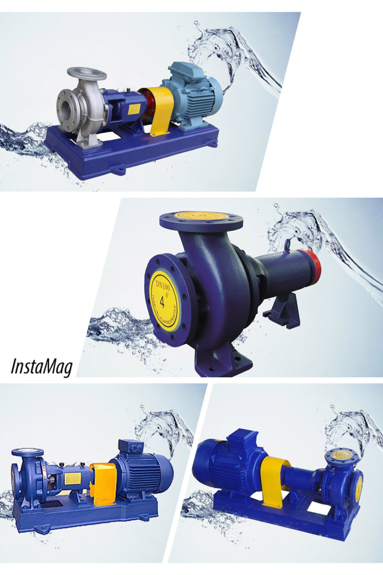 Fluorine Lining Acid Transfer Pump With Electric Motor