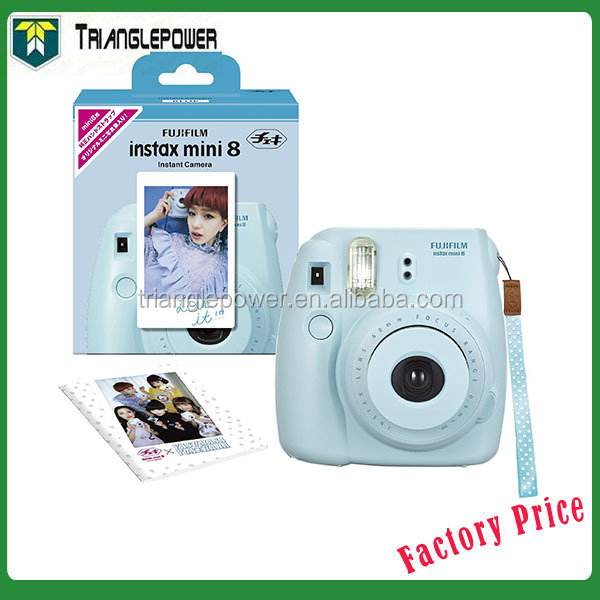 Fujifilm Instax Camera Mini 8 Instant Film Camera Blue