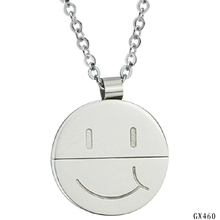 High quality Expression Necklace Faith Necklace on Silver Plated Chain GX460