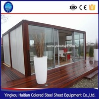 1 bedroom prefabricated modular houses modern cheap prefab homes for sale
