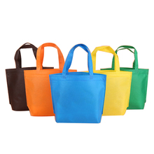customize packing tote shopping non woven laminate bag