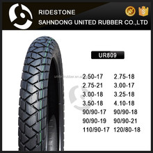 110/90-17 90/90-19 90/90-17 4PR 6pr High Quality Motorcycle Tyres