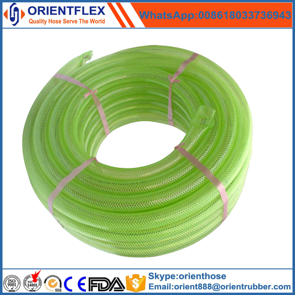 food grade PVC wire braided hose pipe
