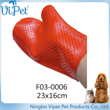 hot sell pet grooming products bath glove dog bathing brush