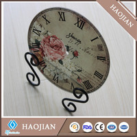 sublimation printable photo image glass clock