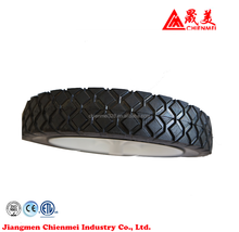 Industry garden rubber wheels vs plastic wheels train vs plastic wheels