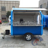 2015 Hot Sale Food Cart For Wholesale Hot Dog mobile Dining Car